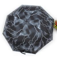 2014 Free Shipping Retail New Thunderbolt Umbrella For Rain Sales
