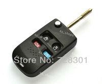 4 Buttons Uncut Blank Flip Folding Remote Key Shell Case Fit For Brazil Ford Car Model KA Focus Ecosport Fiesta Free Shipping