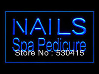 Neon LED Nails Signs ,Spa Pecicure Led Sign
