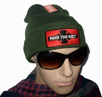 Supreme Independent fuck the rest olive Beanie Hats fashion hearwear Being A New Fashion Trend !
