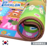 Original parklon baby crawling pad double faced pattern hemming