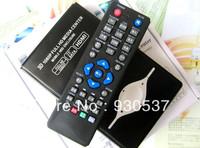 "1080P 2.5"" SATA HDD 3D video  HD Media Player H.264 + HDMI ,AV,Ypbpr output,free shipping"