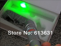 high power 2000mw 2W 532nm  waterproof burning green laser pointer flashligh with focusable lens light fire