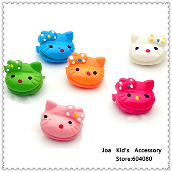 Candy Children Plastic Hello Kitty Hair Claw,Kids Cartoon Hair Clips,Girl Hair Accessories,FJ062+Free Shipping
