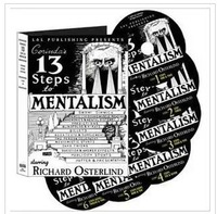 Richard Osterlind - 13 Steps To Mentalism,street close up card mental Magic teaching video