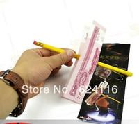 P34 10pcs/lot Easy Free Shipping Through Dollar Paper Magic Trick Magic Show Magic Toys pens for boys girls