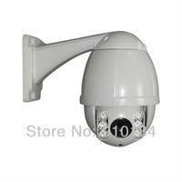 H.264 Outdoor waterproof 700TVL 10x Optical Zoom mini IR speed dome PTZ camera, Security ir ptz CCTV Camera