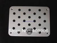 New Aluminum Floor Pedal Foot Mat Pedal Capet for Volvo S40 S60 S80 V40 V60 C30 C70 XC60 XC90