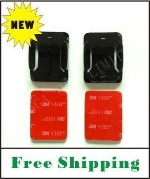 FREE SHIPPING Gopro hero2 hero3 flat adhesive mount (3M)