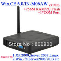 N380W thin client with linux customized 1 COM port 256M Ram 2G Flash embeded WIN.CE 6.0 windows and linux server connect via RDP