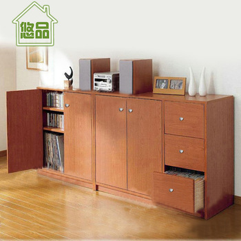 Classic lockers belt door bookshelf wood books cabinet drawer storage balcony bookcase furniture
