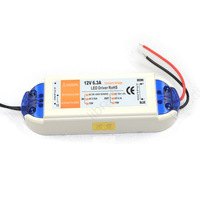 5pcs 12V 6.3A 75W Power Supply AC/DC adaptor transformer for RGB or LED Strip or LED Light