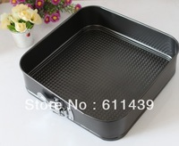 Free Shipping, Hot Selling live at the end with a square cake pan lock&Cake molds, West Point baking