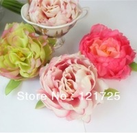 10CM Peony Head,Artificial Flower head, Wedding , Home Decoration Mix Order 6 Colors