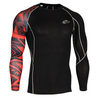Leo pro straitest quick-drying t-shirt fitness clothing compression clothing basic shirt cp-b2