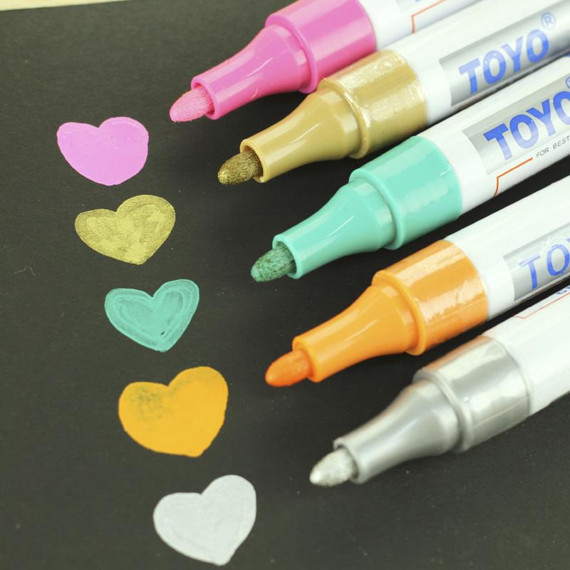 Gold Paint Pen Gold Silver Paint Pen Diy