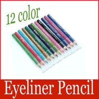 Free shipping: A Set of 12 Color Makeup Eyeshadow Eyeliner Pencil Eye wholesale