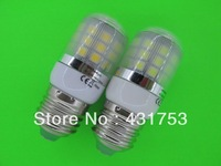 5050  9W  E27   360 degree 30 SMD LED Light Bulb White Warm White light 220V 360Lm LED Corn Light spotlight bulbs With Cover