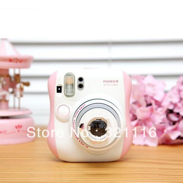 Free Shipping Brand New Fuji Fujifilm Instax Mini 25 Instant Camera Pink(China (Mainland))