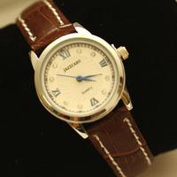 Free shipping for Roman numerals vintage diamond fashion women's watch leather rhinestone lady denim lovers watch