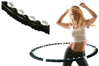 Thin waist slimming device the disassemblability magnetic massage hula hoop hula hoop