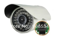 700TVL IR Sony CCD CCTV Camera 700TVL Waterproof Outdoor Camera with Anti-Rust Metal Housing, IP66,FRIEE SHIPPING
