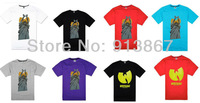 Hot sale,Wholesale men's brand Wu Tang T-shirts t-shirt short sleeve Tee t shirt tshirts size:S,M,L,XXL,XXXL