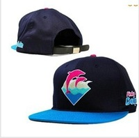 Blue Pink Dolphin Trukfit Snapback Embroidery Baseball Caps Golf Dancing Hat Truck