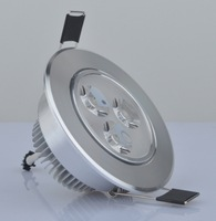 Wholesale 3w5w7w led  light spotlights  led embedded spotlights AC110-220V adjustable angle spotlights