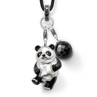 Подвеска панда на шнурке 107грн