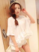 2014 new summer casual women's blouses and fashion tops Freeshipping Sty nda loose cute t-shirt fashion shirts