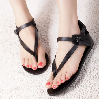 Fashion women's shoes 2013 flat heel sandals flip sandals flat flip-flop female sandals