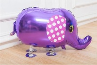 Free Shipping-10pcs/lot Factory Outlets Wholesale And Retail 3D Style Walking Animal Balloon -Elephant (The style is available)
