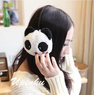 Cute bunny / panda plush warm earmuffs cover their ears warm winter warm earmuffs chaomeng/Cold earmuffs/Cold / earmuffs