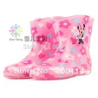 Worldwide Free shipping Child rain boots child rainboots crystal rainboots water shoes rain boots rain shoes