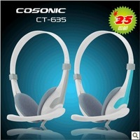 Cosonic jahe ct-635 headset earphones computer earphones belt