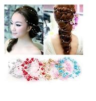 Fashion Wedding Accessories Princess bride pearl hair headdress sweet Korean series Free shipping