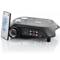 Eye Care High Definition Home Theater Portable DVD Projector with DVD RMVB(MP5) TV GAME USB SD MMC AV