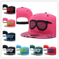 2013 New Style Shades Snapback Pink Black  cheap fashion adjustable caps  Free Shipping