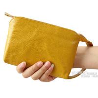 Fashion 2014 women's clutch women's handbag clutch bag women's genuine leather coin purse bag mobile phone bag