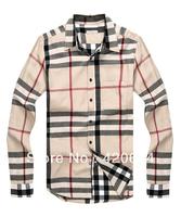 Free Shipping, hot 2013 autumn new casual men shirts, famous brand high quality fashion long sleeve men shirt  B3806, 6 colors