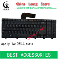 Wholesale 10pcs/lot Laptop Keyboards For DELL N5110 M501Z M5110 M511R  Keyboards