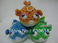 Free Shipping Wholesale 30Pcs/Lot 12cm Blowfish Doll Cell Phone Bag Pendant Keychain Cartoon Plush Stuffed Toy Promotion Gifts