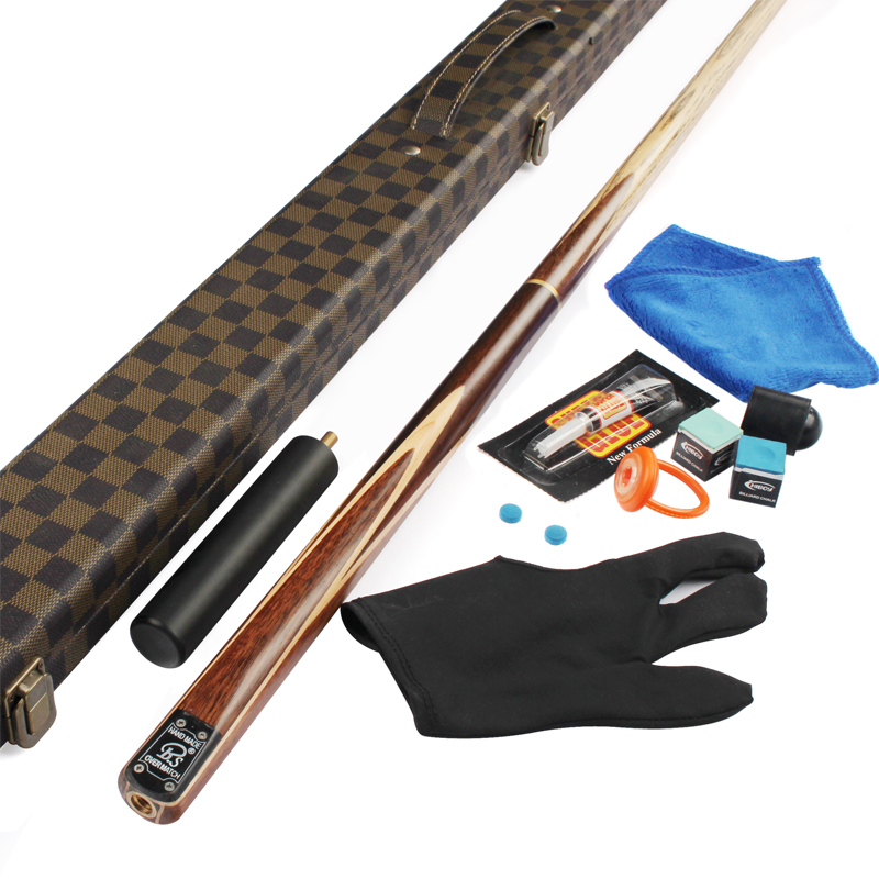 Handmade bs snooker pole black 8 set american capitellum 16 black cue stick(China (Mainland))