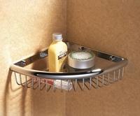 Bathroom copper single tier accessories bathroom corner shelf 015