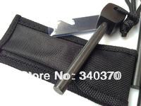 Replacement Survival Magnesium Flint Stone Fire Starter 6pc lot(8*80mm)