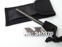 Replacement Survival Magnesium Flint Stone Fire Starter 48pc lot  (8*80mm)