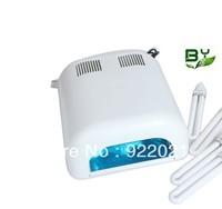 Free Shipping White nail uv lamp dryer 36W 220-240V Gel Curing Nail Art (EU Plug) with 4pcs 365nm UV Bulb