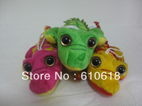 Free Shipping Wholesale 36Pcs/Lot Crocodile Alligator Doll Cell Phone Bag Pendant Keychain Figure Cartoon Plush Stuffed Toy Gift