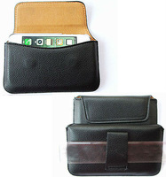 Leather Pouch phone bags cases with Belt Clip for lg google nexus 4 Cell Phone Accessories